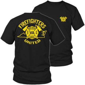 Limited Edition - Virginia Firefighters United