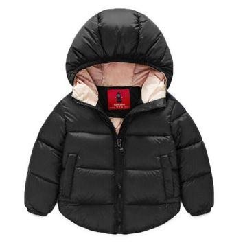 Girls Outerwear Coat jacket Hooded