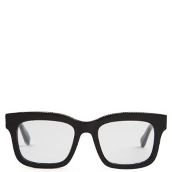 Falabella D-frame acetate glasses | Stella McCartney | MATCHESFASHION.COM UK