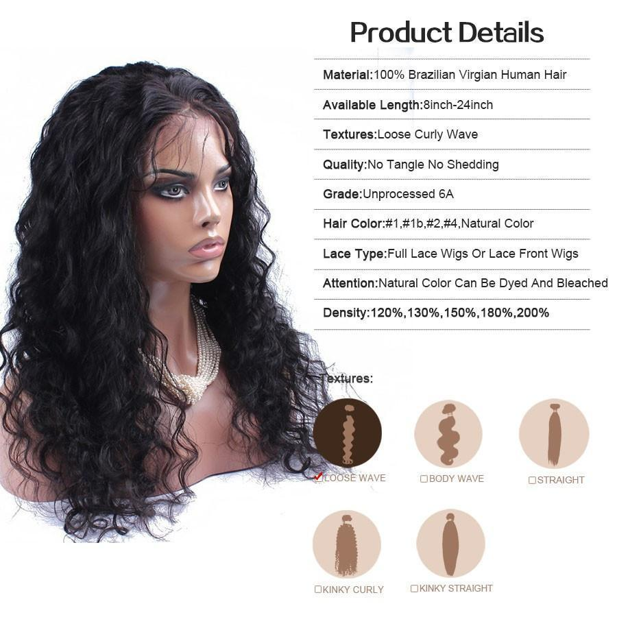 6a Brazilian Virgin Human Hair Full Lace From Stylish N Trendier