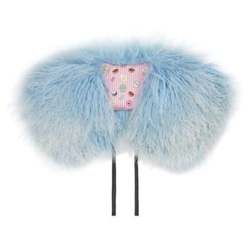 Charlotte Simone 'Muffin Top' Genuine Mongolian Lamb Fur Collar | Nordstrom