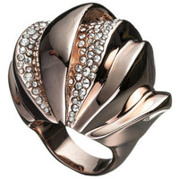 Bel Air Rose Gold Sculptural Ring :: Rings :: Jewelry By Category :: Alexis Bittar
