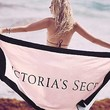 Victoria's Secret Limited Edition Beach Towel - Pink and Black 30x60
