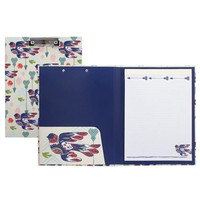 Capri Designs-Padfolio with Clipboard-Choose From 11 Different Designs.  Great For School, Office or Home.
