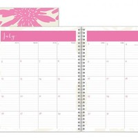 July 2015 - June 2016 Susy Jack Blomma Monthly Planner 8x10