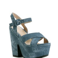 Sale- Blue Wild One Heels