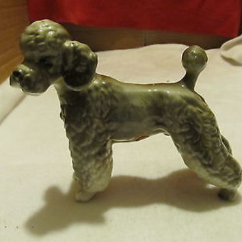 LEFTON POODLE FIGURINE TRADEMARK OF JAPAN # 4665-9 VINTAGE