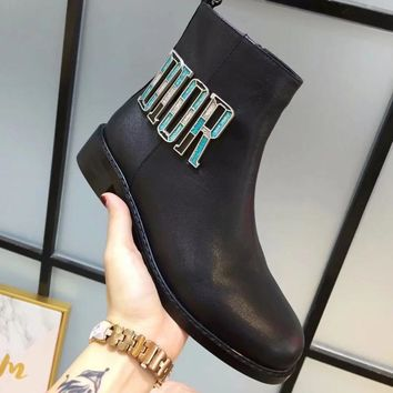 Dior Women Fashion Simple Casual Boots Shoes