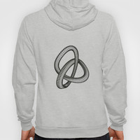 Shape 1 Hoody by White Print Design