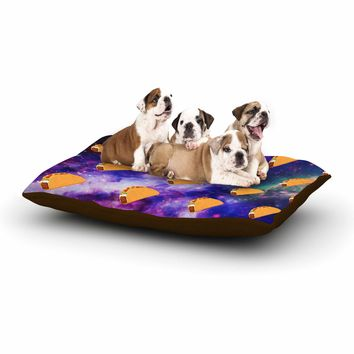 "Juan Paolo ""Taco Galaxy"" Pink Purple Dog Bed - Outlet Item"