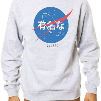 The Explorers Crewneck Sweatshirt in Heather Grey