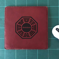 Dharma Mouse Pad Leather Mousepad Mouse Mat