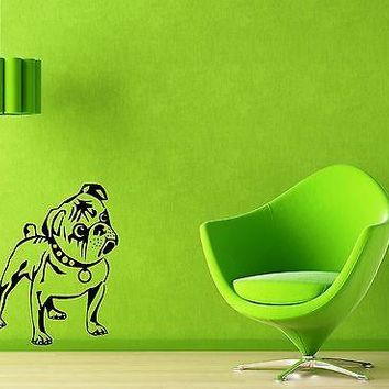 Wall Stickers Vinyl Decal Funny Dog Puppy Animal Home Decor Unique Gift (ig947)