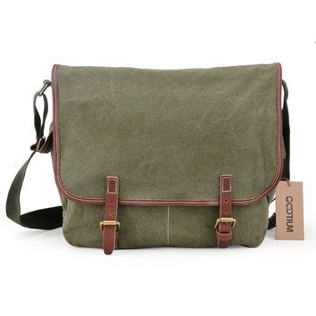 Canvas Messenger Bag #51029