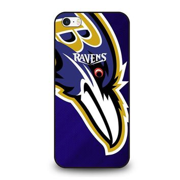 BALTIMORE RAVENS iPhone SE Case Cover