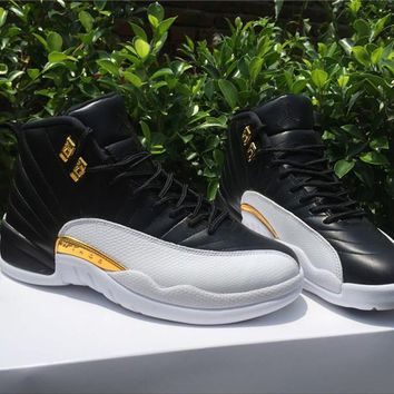 "AIR JORDAN 12 RETRO ""WINGS""Basketball shoes"