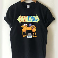 CatDog T-shirt Men, Women, Youth and Toddler
