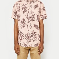 Schnayderman's / Leisure TA Garden Print SS in Pink and Brown