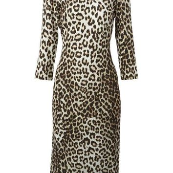 ONETOW Rag & Bone leopard print dress