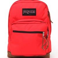 JanSport Right Pack Coral School Backpack - Womens Backpack - Blue - One