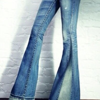 Bell Bottoms CUSTOM Denim   Jeans Women or Men