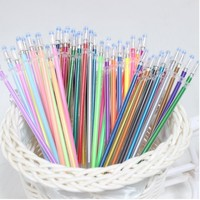 12,24,36,48 Colors Flash Ballpoint Gel Pen Highlight Refill Colorful Shining Refill Painting ball point Pen Drawing pens 04116