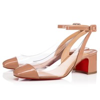 Asticocotte 55 Nude/Transp Pvc - Women Shoes - Christian Louboutin