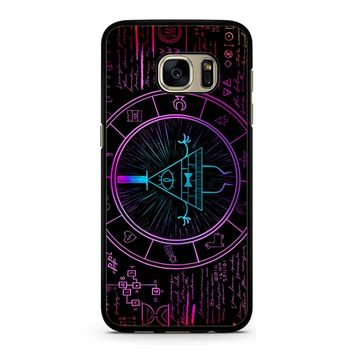 Bill Cipher Galaxy Samsung Galaxy S7 Case