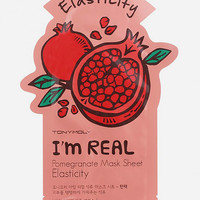 Tonymoly I Am Real Pomegranate Elasticity Sheet Mask Pomegranate One Size For Women 27481095701