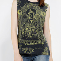 Blackstone Ganesh Stencil Muscle Tee - Urban Outfitters