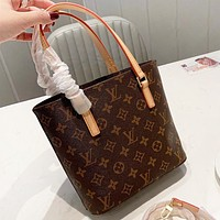LV Louis Vuitton  New fashion monogram leather shoulder bag handbag crossbody bag