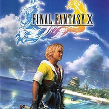 Final Fantasy X (Sony PlayStation 2, 2001) [Black Label]
