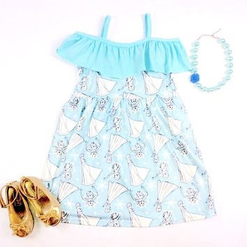 RTS Sky Blue Princess Dress D8