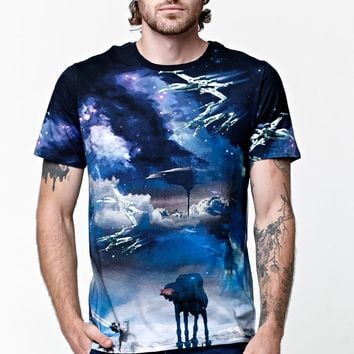 On The Byas - Star Wars Walker Cosmic T-Shirt - Mens Tee - Multi