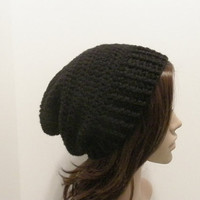 Everyday Slouch Hat  Black