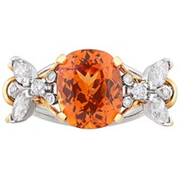 Tiffany & Co. Spessartite Bee Ring by Jean Schlumberger