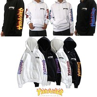 Thrasher Hooded Sweatshirts W/Flame Logo