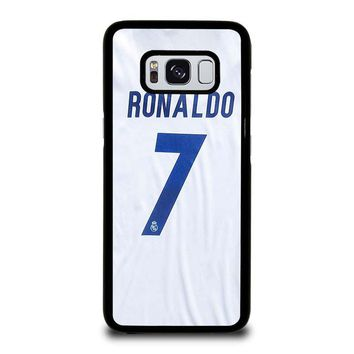 RONALDO CR7 JERSEY REAL MADRID Samsung Galaxy S8 Case Cover