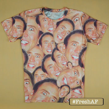 Nicolas Cage Crazed T-Shirt
