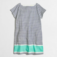 Factory girls' colorblock stripe tee dress - AllProducts - FactorySale's Clearance - J.Crew Factory