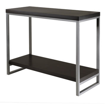 Jared Console Table, Enamel Steel Tube
