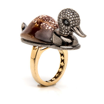 Shell Duck Ring