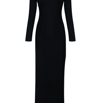 Kloss Black Maxi Dress