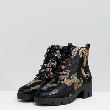 ASOS REACTION Hiker Ankle Boots at asos.com