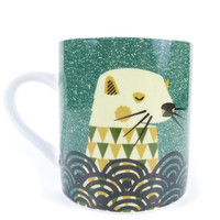 Magpie 'Wildlife by Tom Frost' Large Mug - Otter