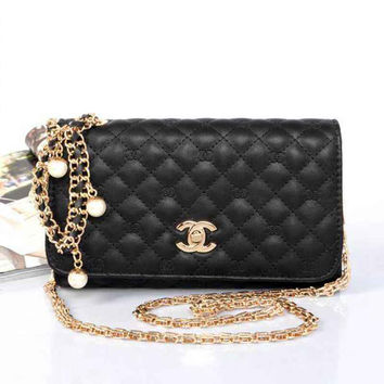 CHANEL Women Fashion Shopping Leather Chain Shoulder Bag Satchel Crossbody