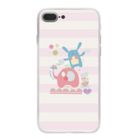 Unique Cute Pink Elephant Print 7 7 Plus & iPhone 6 6s Plus Case Cover