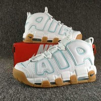 Nike Air More Money Uptempo Ocean Bliss Sneakers - Best Deal Online
