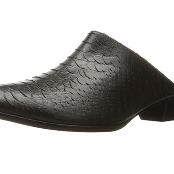 Matisse Clover Black Leather Mule Shoes