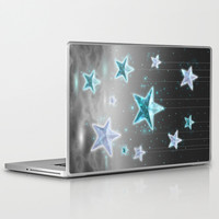 Make a Wish • Stars in the Sky (Shine Bright Series) Laptop & iPad Skin by soaring anchor designs ⚓ | Society6
